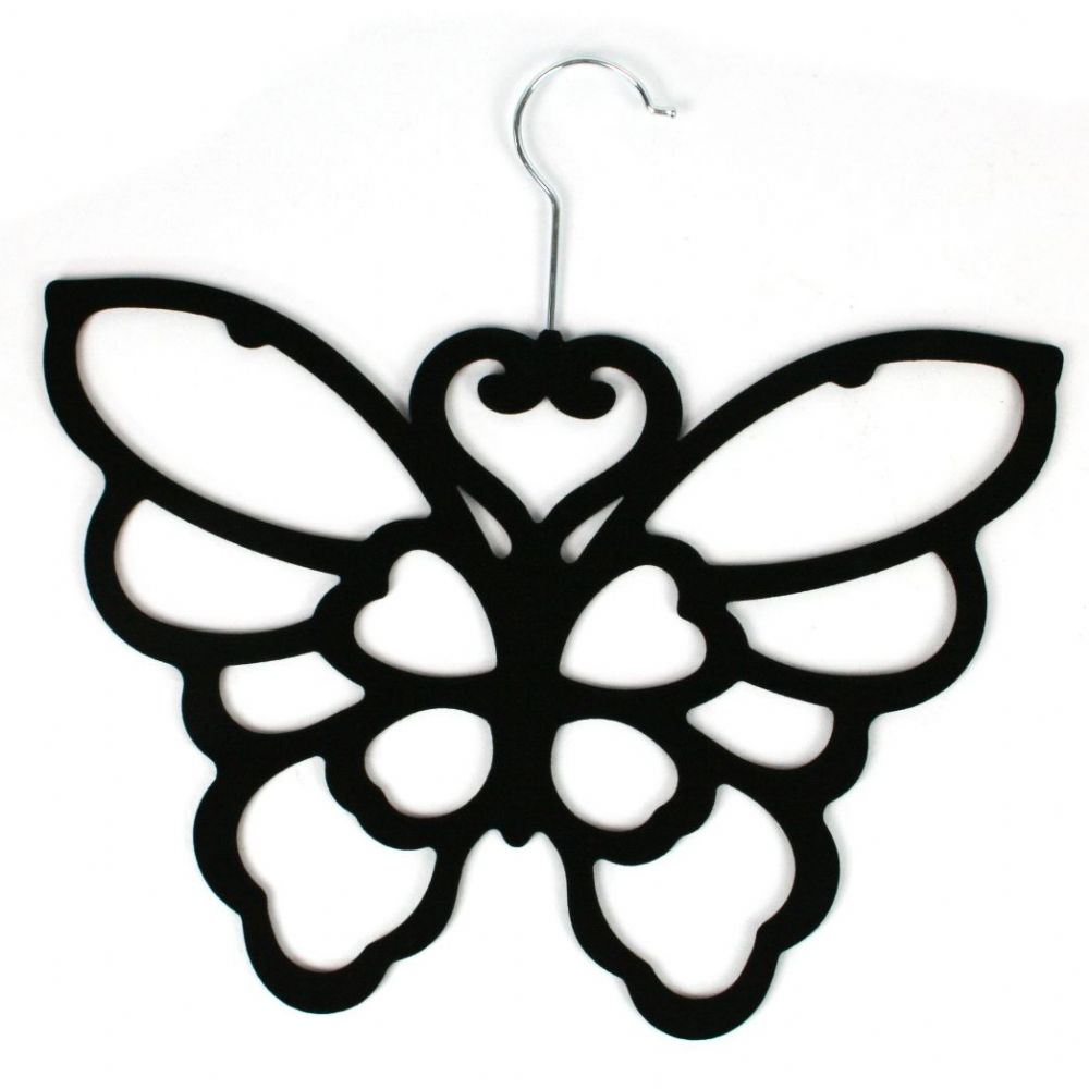 Black Butterfly Scarf Hanger|Bisoux